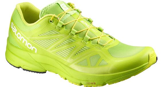 Salomon Sonic Pro Trailrunning Shoes Men granny green/granny green/gecko green